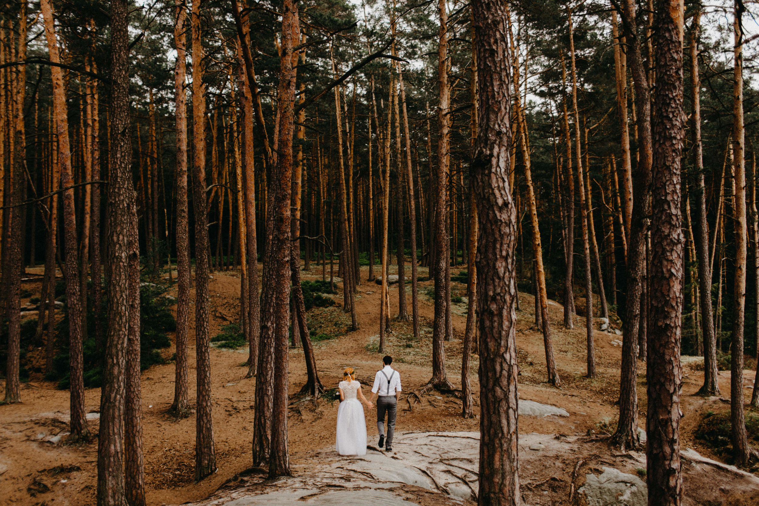 forest wedding elikubikova