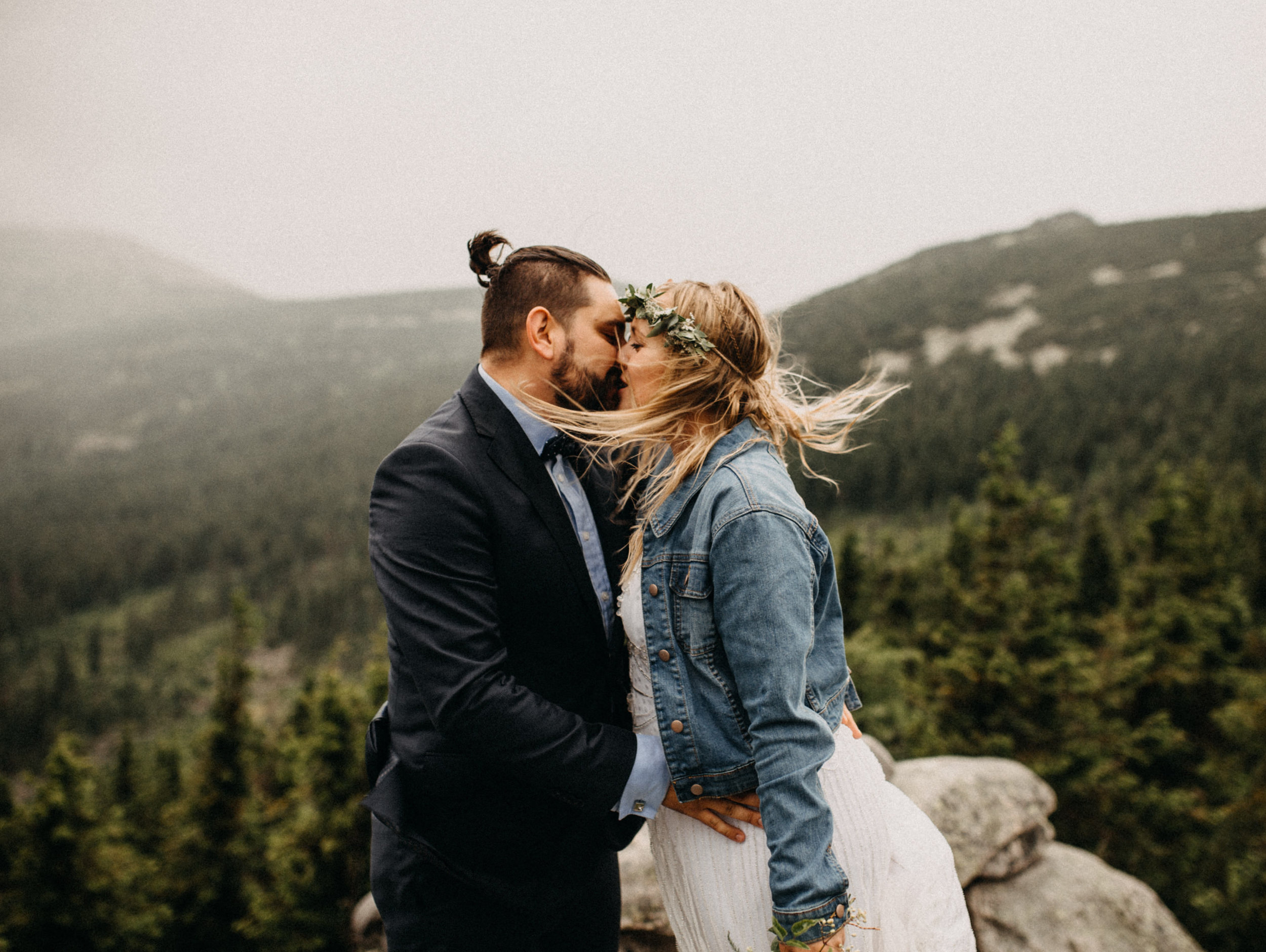 mountain forest wedding elikubikova