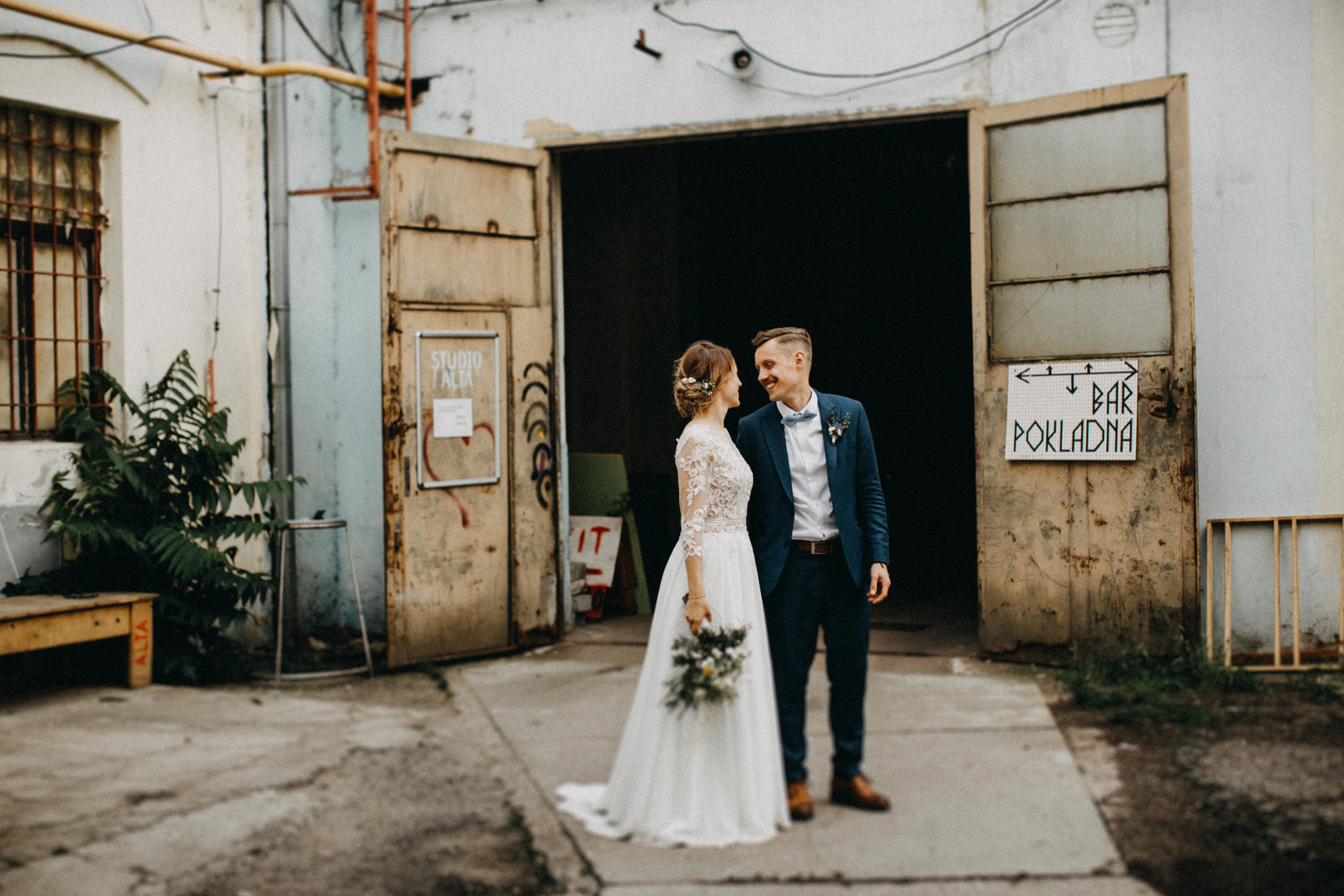 industrial wedding elikubikova