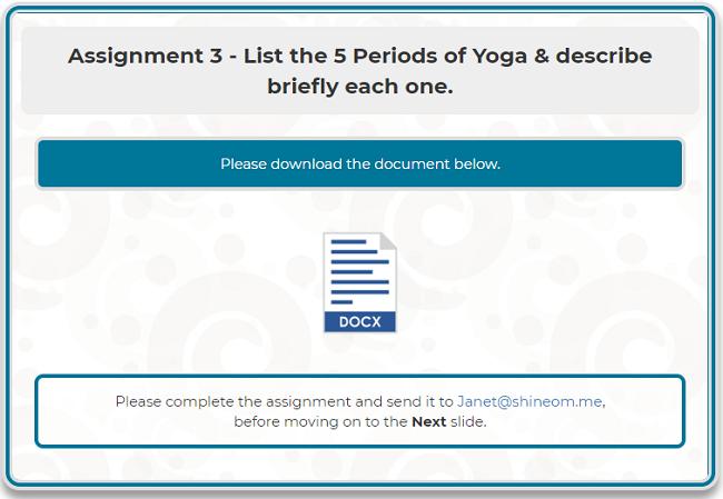 Assignment 3 -