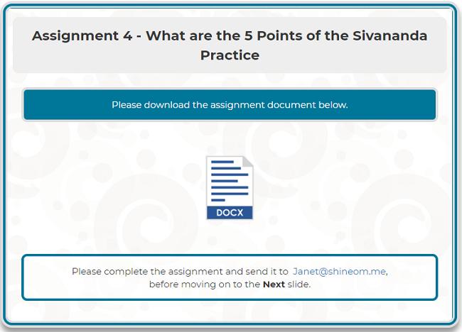 Assignment 4 -