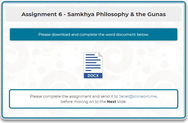 Assignment 6 -