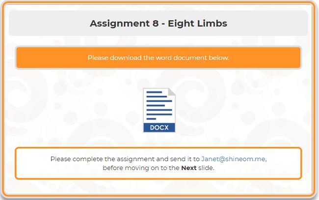 Assignment 8 -