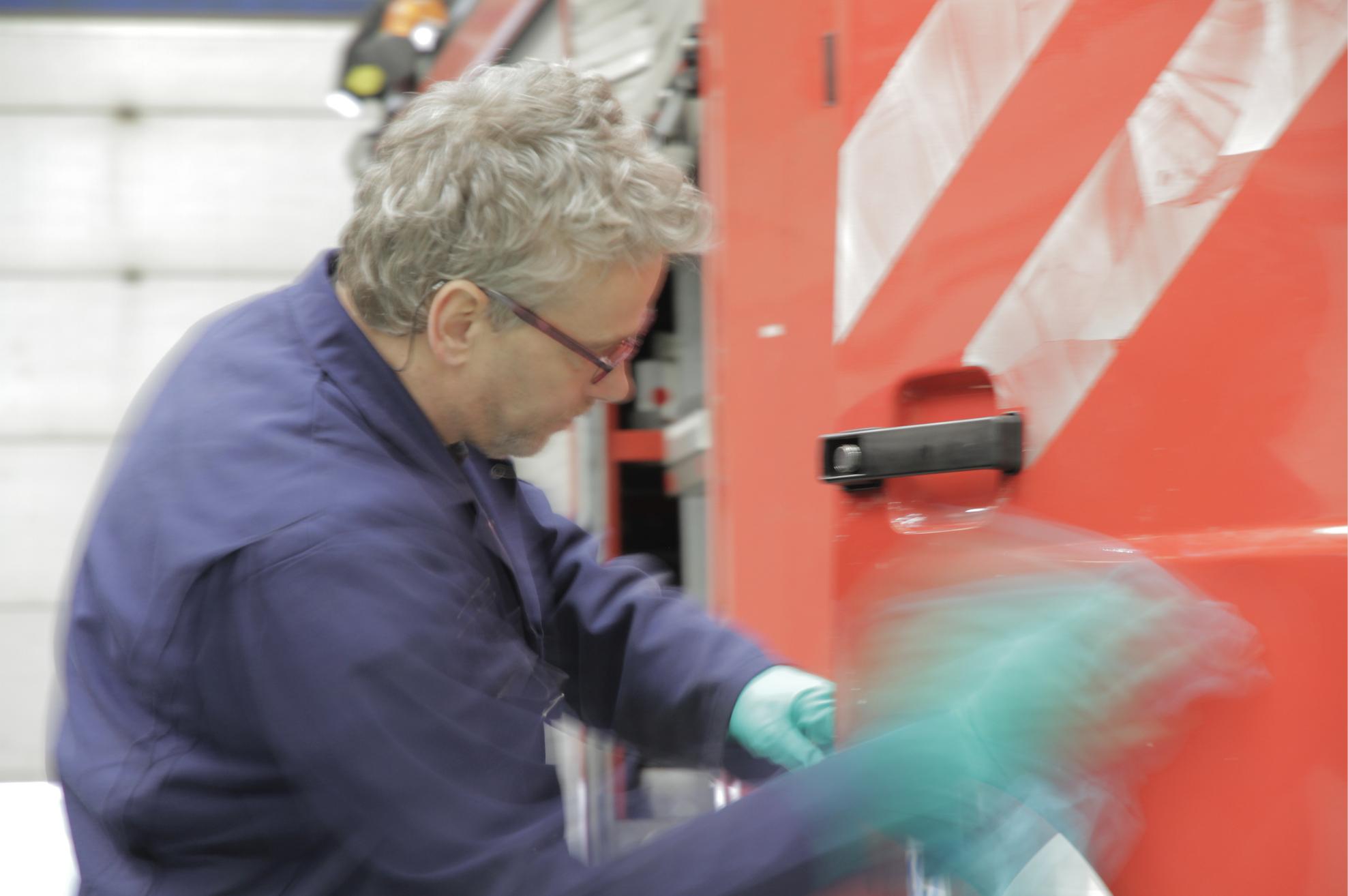 reparatie schadeherstel brandweerauto hendrik kok