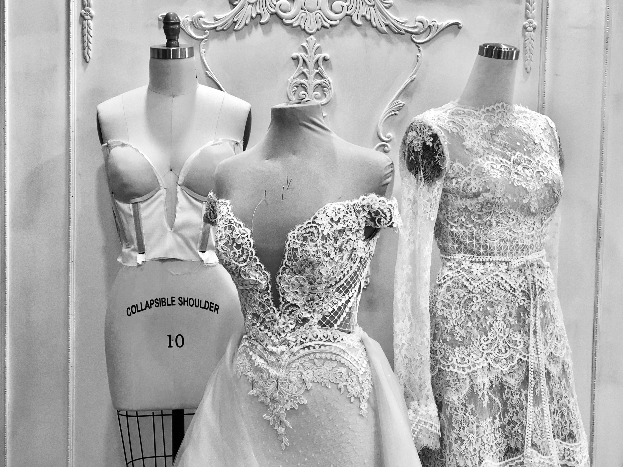 Top 3 Things To Know When Designing Your Own Wedding Dress Whyte Couture