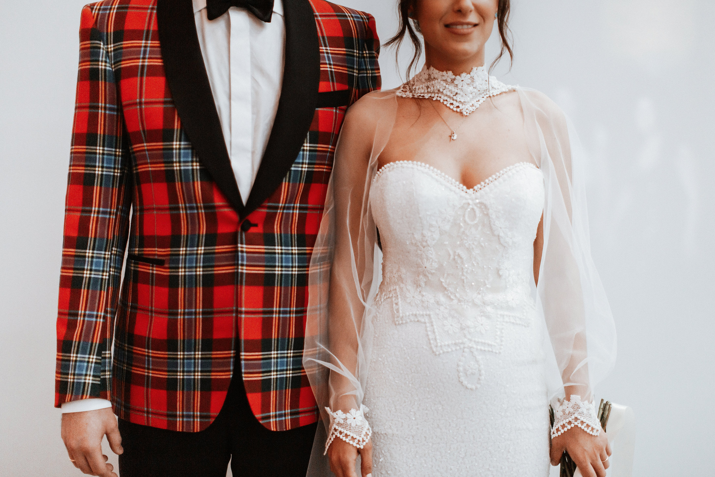 """#4) Have Fun! - """"At Whyte Couture, we have a special bond with each one of our brides."""""""