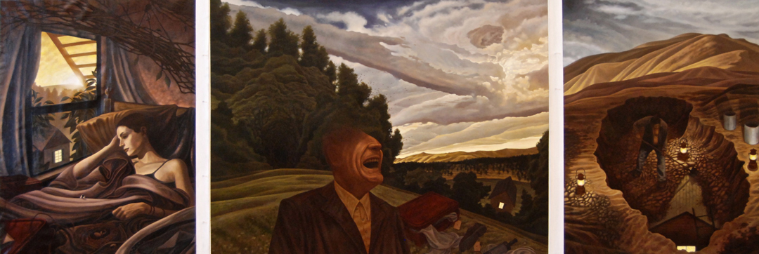 18) DMohl-The First Universe-Oil on Canvas.JPG