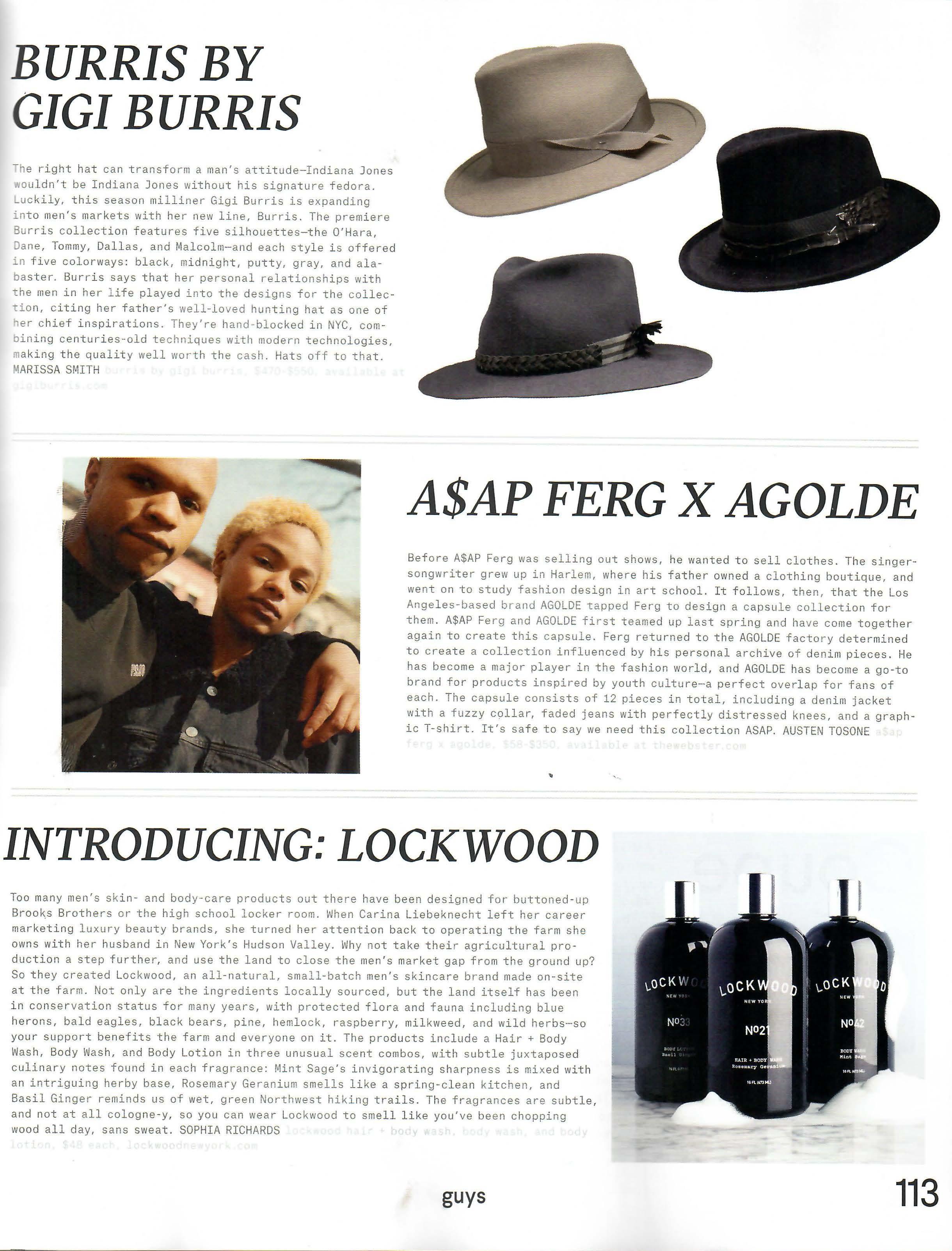 Nylon Boys: Introducing Lockwood