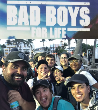 Bad Boys 3 - April 2019We would like to congratulate our Alumni and recent students who just wrapped the Miami unit on the set of Bad Boys 3. We enjoy seeing our students applying skills and techniques learned in the classroom professionally in the field. Bad Boys 3, tentatively titled 'Bad Boys For Life', was shooting in Miami over the last 2 weeks and will spend around $10 million by the end of their time shooting in South Florida. The movie is set to release in January of 2020. We're so glad to see these movies filming here in Florida again.