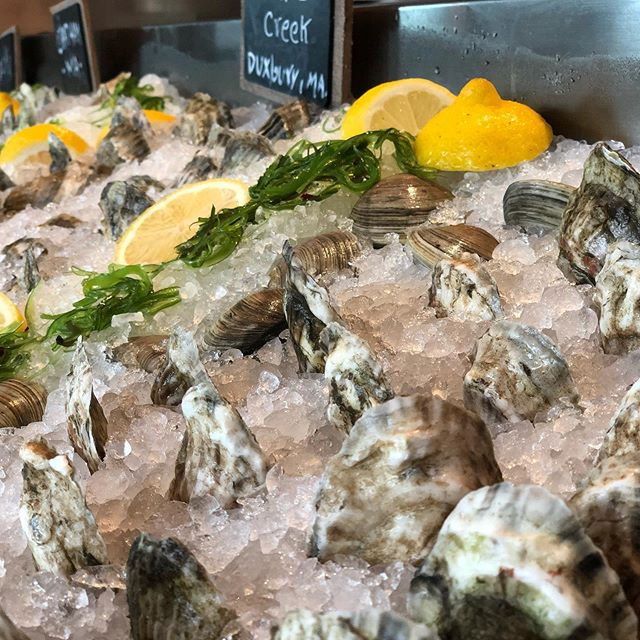Buy one Get One Oysters from 4-6 today and Every Night after 9pm!! #oysterspecial #tridenthingham #eatlocal #hinghamshipyard