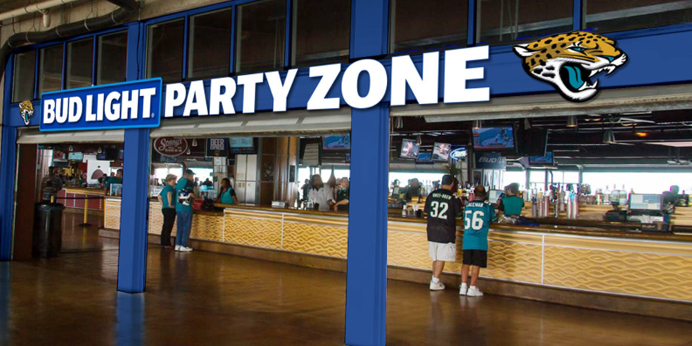 Bud Light Party Zone