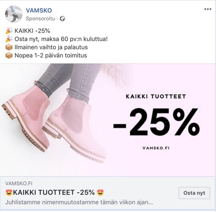 myyntiputki facebook mainostaminen