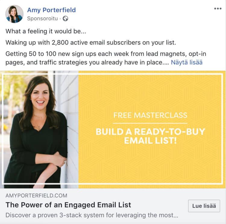 Facebook-strategia 2