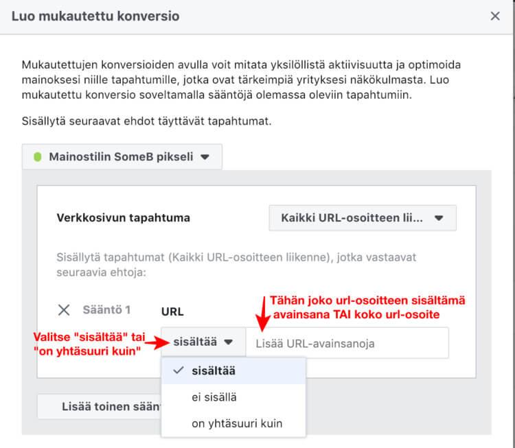 facebook pikselin asennus