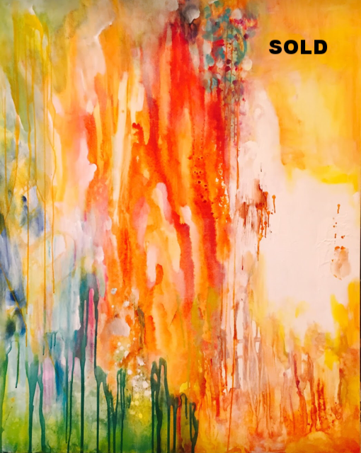 Bliss  48x60  SOLD