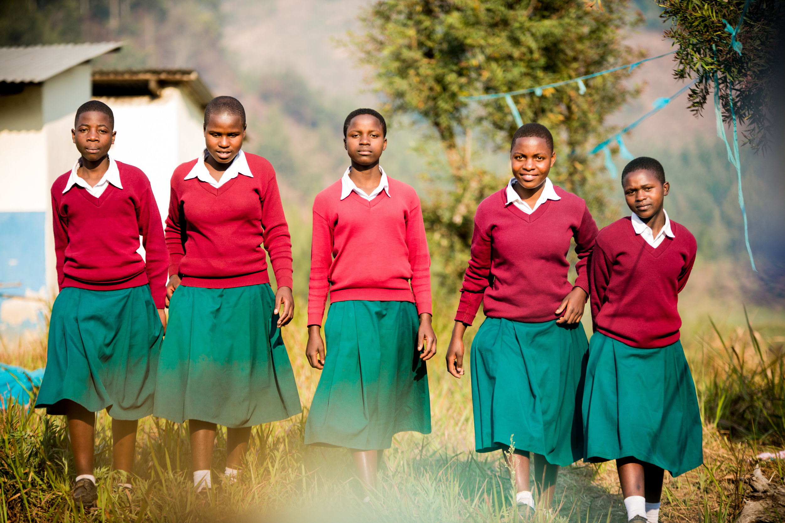 1,000 girls safe in dormitories built by Lyra with local communities since 2011 – Lyra's goal is to reach 5,000 girls.
