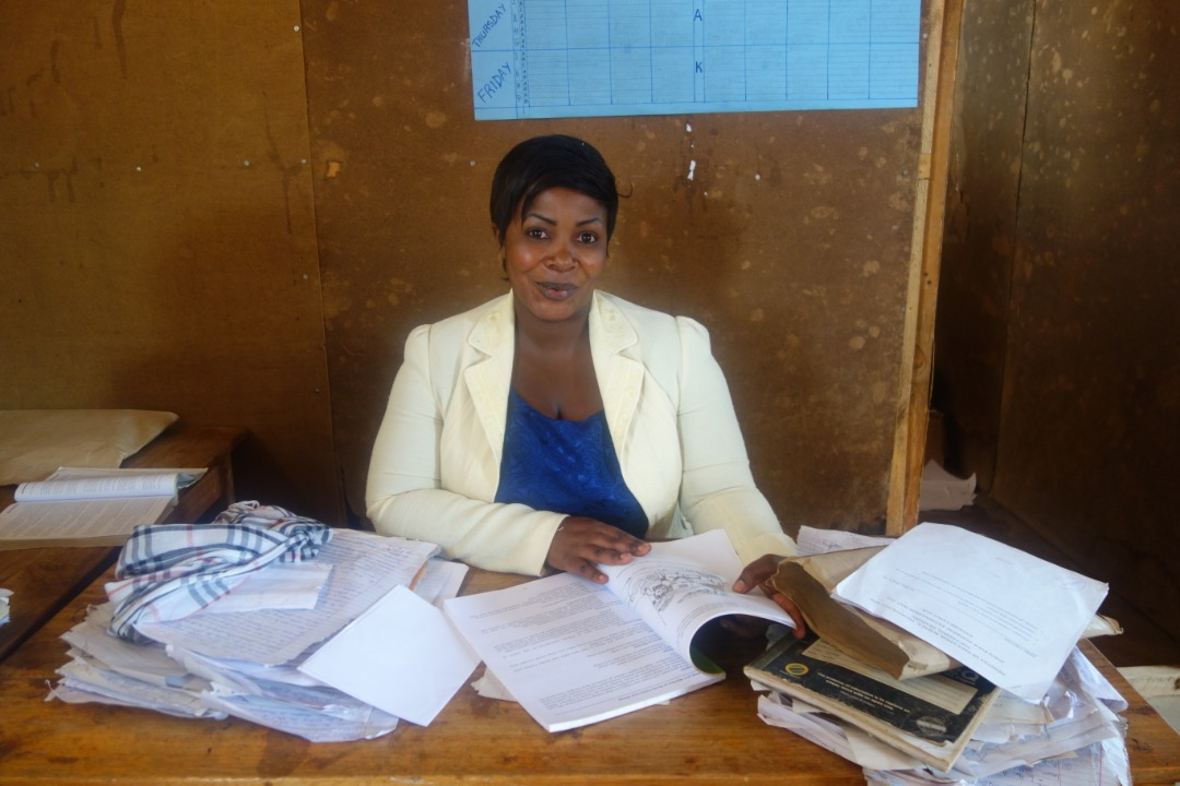 Beatrice Mitao, 32, is a teacher at Lundamatwe Secondary School.