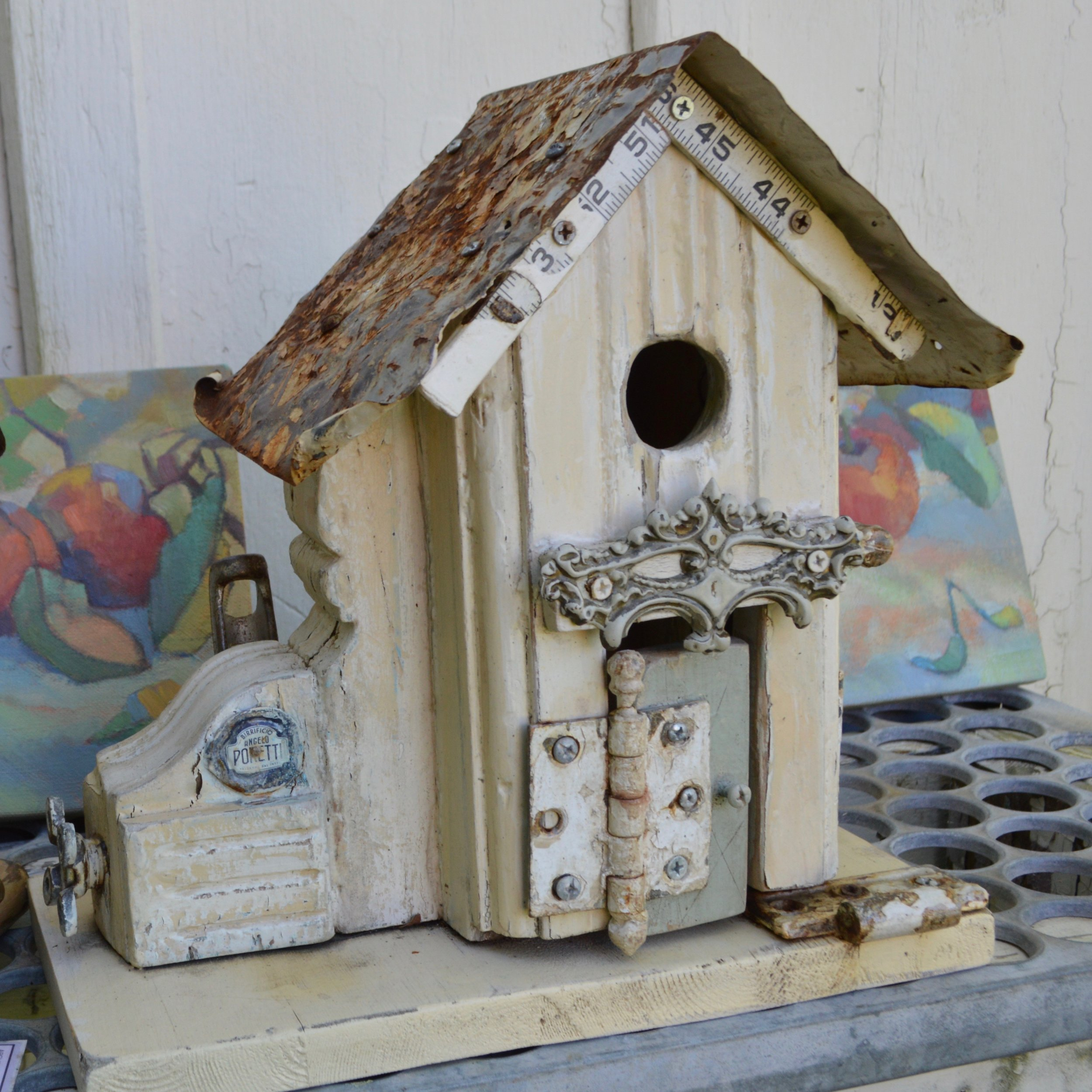 Sue Burger Architectural Birdhouse:Peachbelt.jpeg