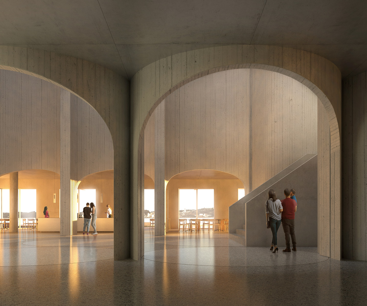 RVA has been awarded the second prize in the competition for the Art Museum and Cultural Quarter in Kristiansand, Norway