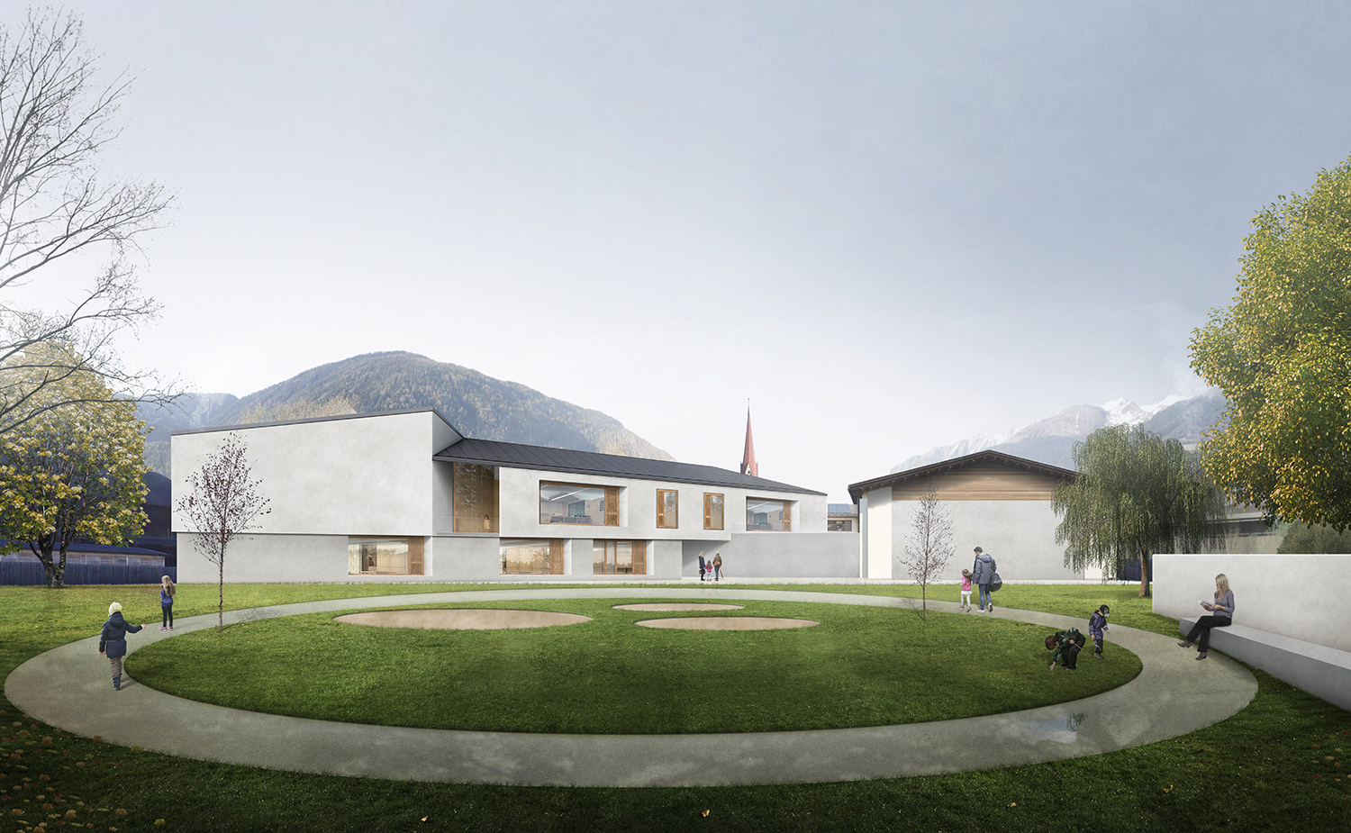 RVA is finalist in the competition for the Kindergarten in St. Georgen of Brunico, Italy