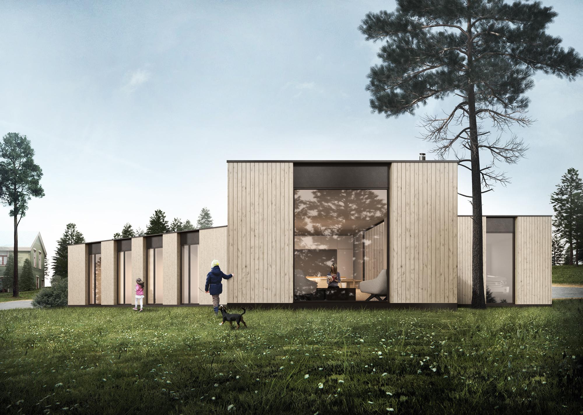 Kråkskogen private house in Lyngen - Norway