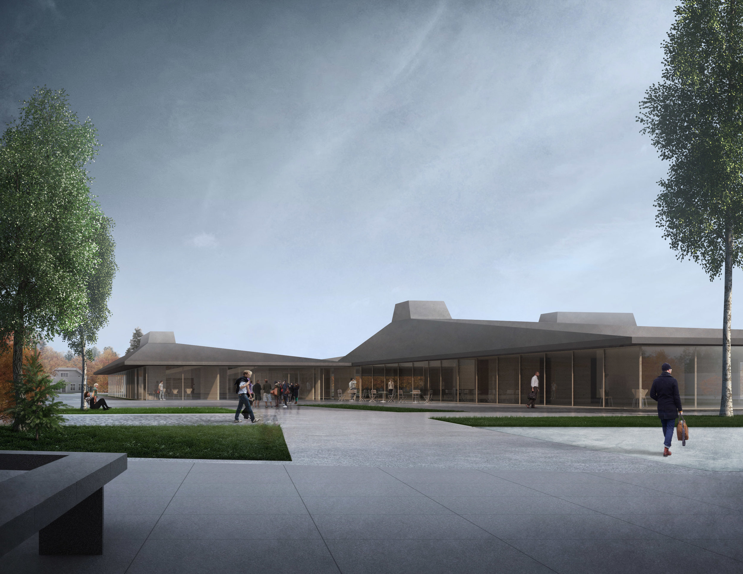 RVA has been awarded with an honorable mention in the competition for the  School and Activity House in Våler, Norway