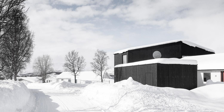 Bregnevegen private house in Tromsø, Norway
