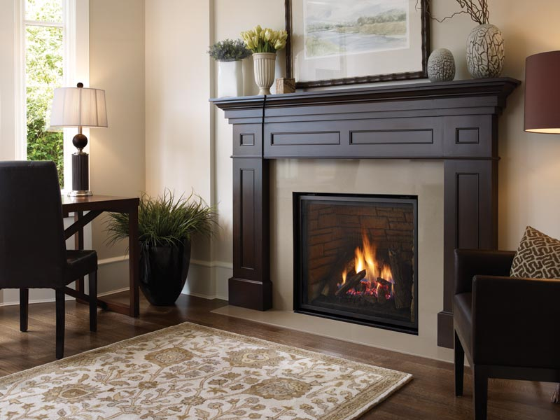 Regency Liberty L965E    View Full Specs   The Liberty L965E has one of the largest viewing areas available in the Regency line and permits finish materials to be installed to the edges for a pure, unadorned appearance. Excellent for larger living space.
