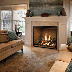 Mendota Full View    View Full Specs   Perfectly proportioned for larger rooms, the FV46 FullView fireplace impresses without overpowering.