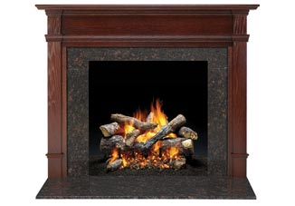 Fireside Furnishings    View All Designs   Personalize your fireplace with a mantel and surround. Our options include wood fireplace mantels that range from classic to contemporary designs.