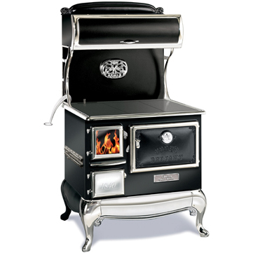 Elmira Fireview    View Full Specs   The latest advance in the way things used to be... The Fireview is a high-efficiency, air-tight wood-burning cookstove that is perfect for home, cottage or camp. It serves as a high-output room heater, a cooking appliance, an attractive fire-viewing woodstove.