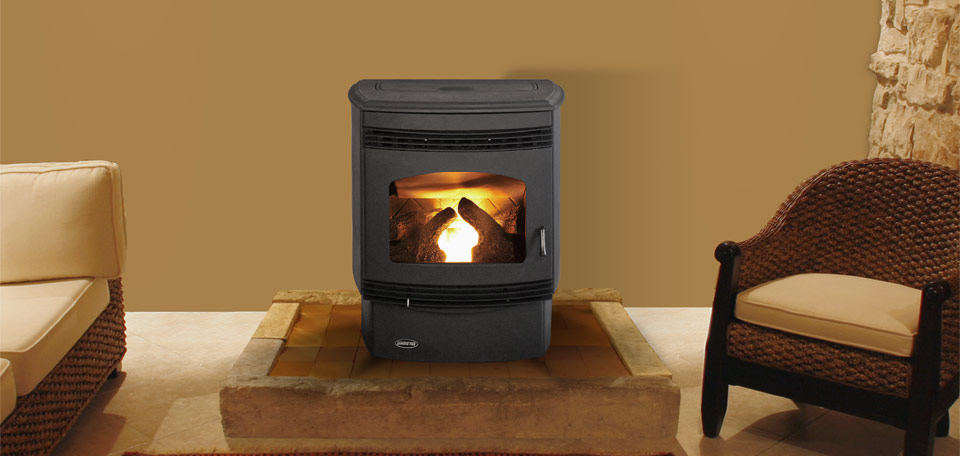 Quadra-Fire Santa Fe    View Full Specs   The Santa Fe features a contemporary design in a compact size. The thermostat controlled heat settings allow the durable engine to automatically and efficiently heat any room.