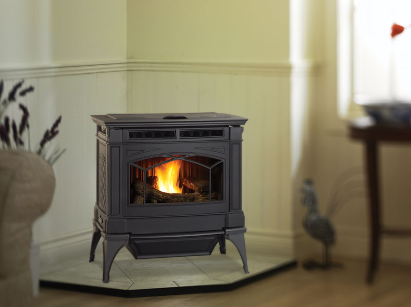 Hampton GC60    View Full Specs   This environmentally-friendly heater combines all of the best features of traditional cast iron with the latest developments in alternative fuel technology. This freestanding pellet stove (GC60) can burn wood pellets, corn, wheat & barley at maximum efficiencies for very cost effective home heating.