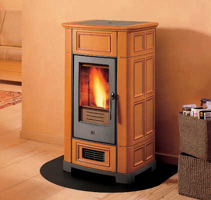 Piazzetta P955    View Full Specs   Compact yet versatile, this stove with classic styling is ideal for heating medium size environments. Ceramic sides available in three colors.