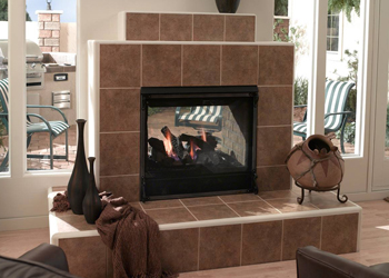 Heat & Glo Twilight II    View Full Specs   Heat & Glo's Twilight is the world's first indoor/outdoor see-thru fireplace. Enjoy your fireplace from your family room and patio simultaneously, any time of the year.