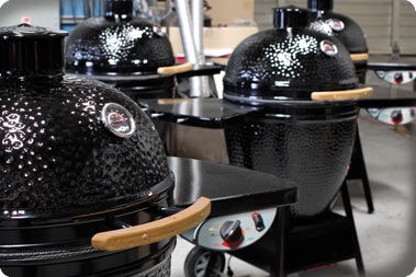 Black Olive Grills    View All Styles & Sizes   The Black Olive's patented design and shape gives it the ability to reach a wide range of temperatures, making it perfect for slow roasting or searing. You will never need to worry about over cooking or scorching your food again. Available in Pellet or Charcoal models.