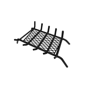 Bar Grate w/Retainer   Same bar grate construction with an ember retainer.