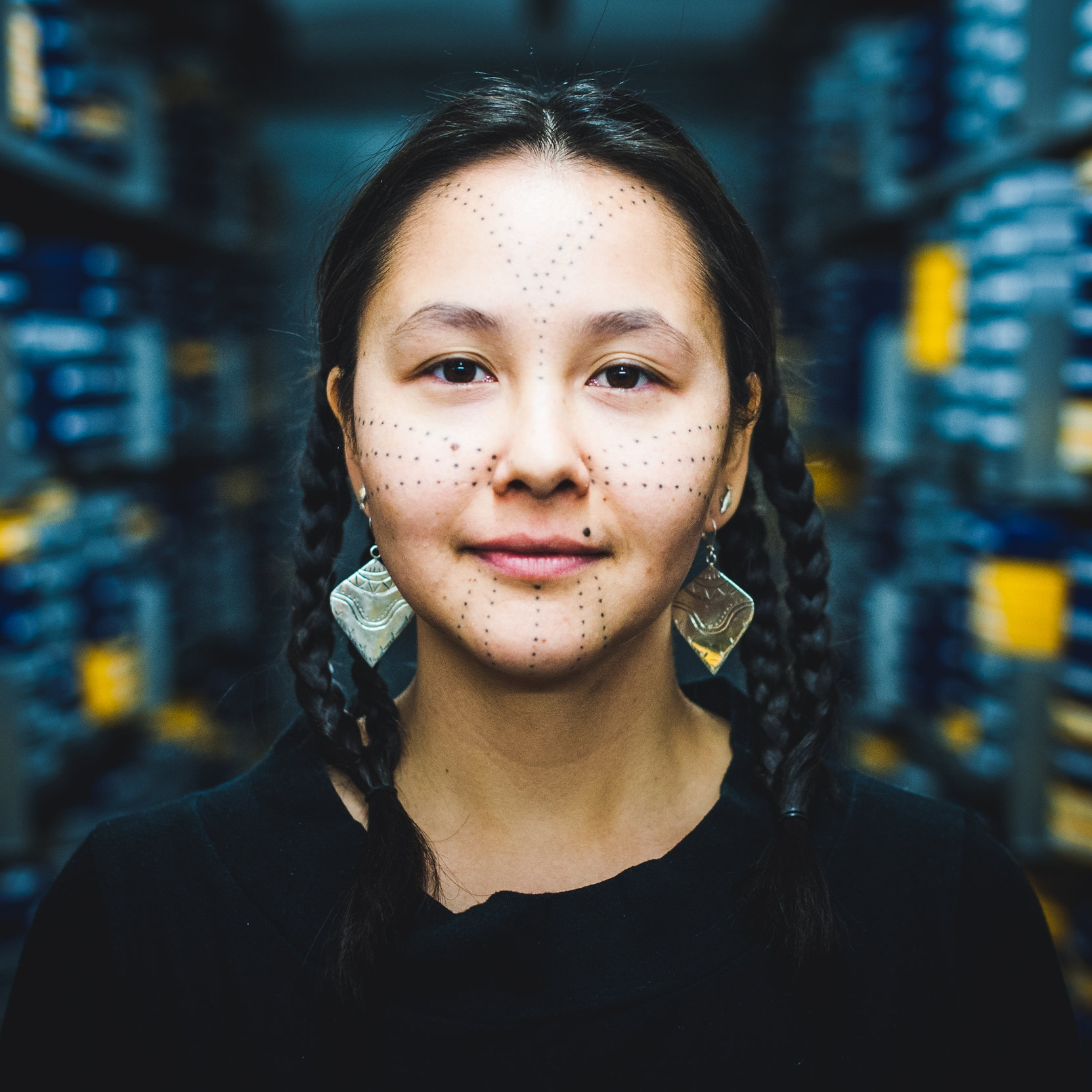 Asinnajaq - Asinnajaq, also known as Isabella Rose Weetaluktuk, is a visual artist, filmmaker and writer based in Montreal. Asinnajaq's practice is grounded in research and collaboration, which includes working with other artists, friends and family. In 2016 she worked with the National Film Board of Canada's archive to source historical and contemporary Inuit films and colonial representations of Inuit in film. The footage she pulled is included in her short film Three Thousand, which has screened around the world including the 68th Berlinale. The film was nominated for Best Short Documentary at the 2018 Canadian Screen Awards by the Academy of Canadian Cinema & Television.