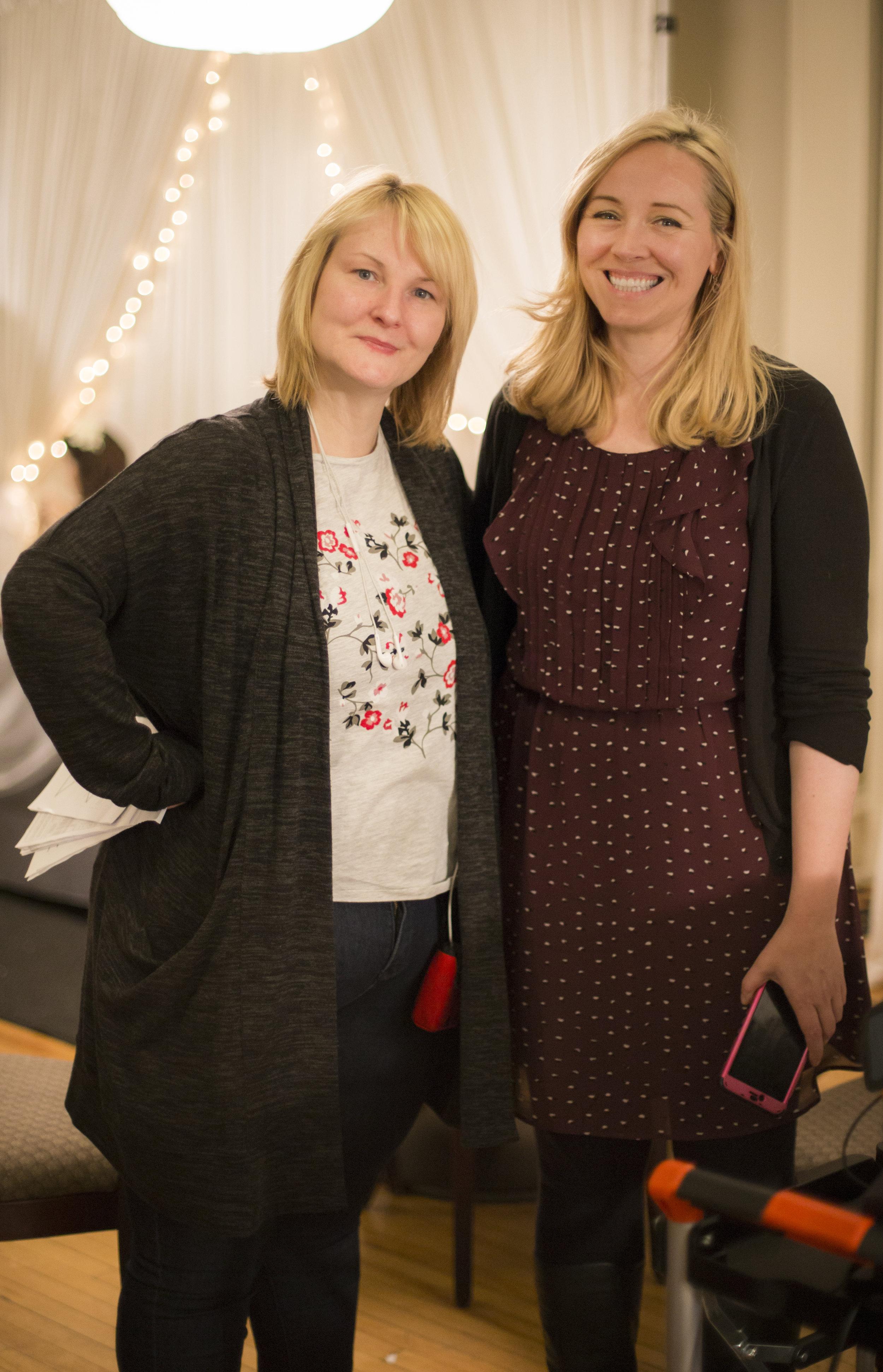 Deanne Foley and Latonia Hartery