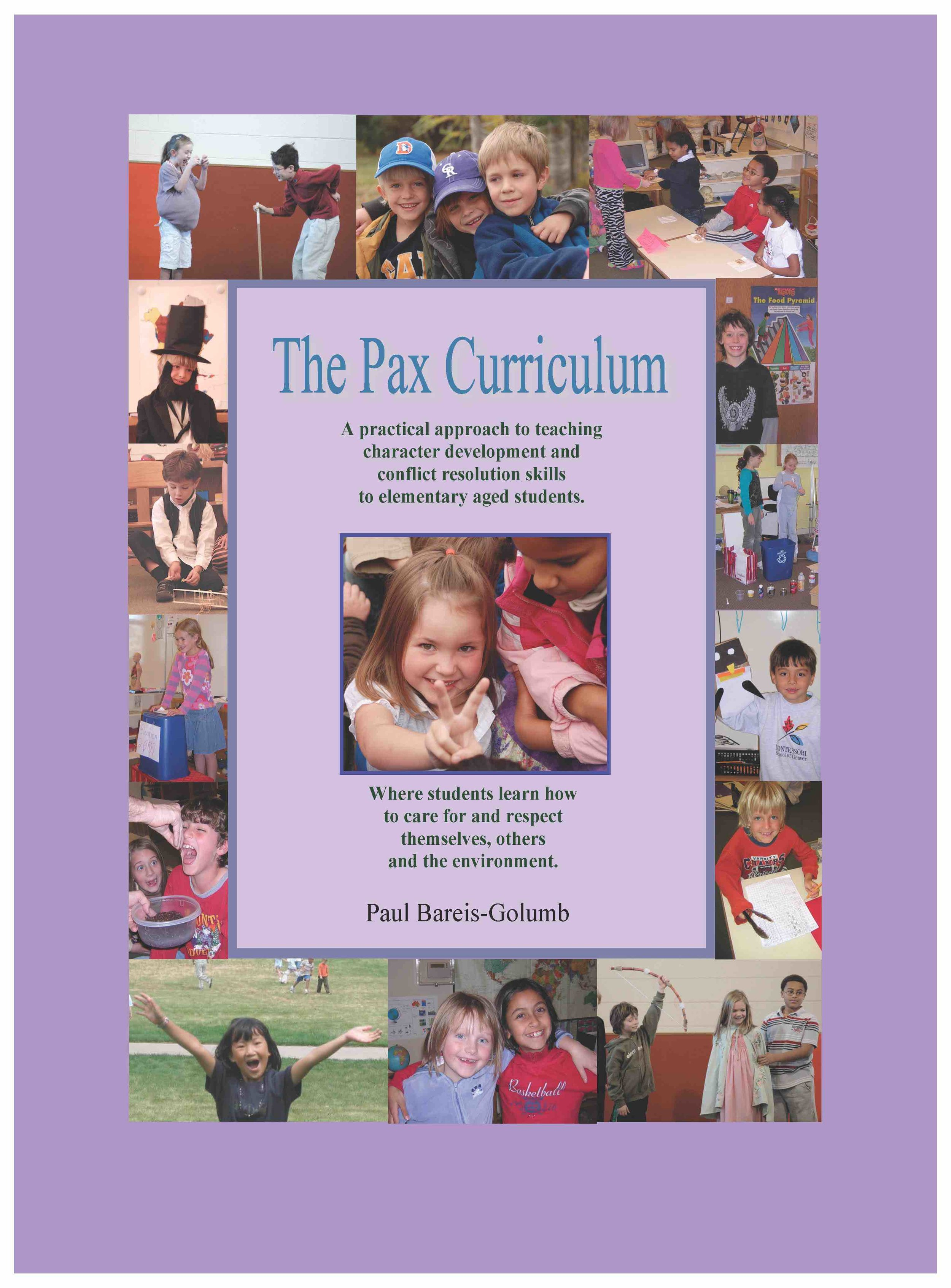 Click on the cover to preview The Pax Curriculum