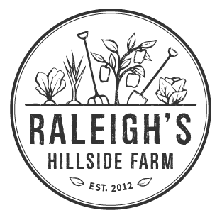 Raleigh's Hillside Farm  // Logo design
