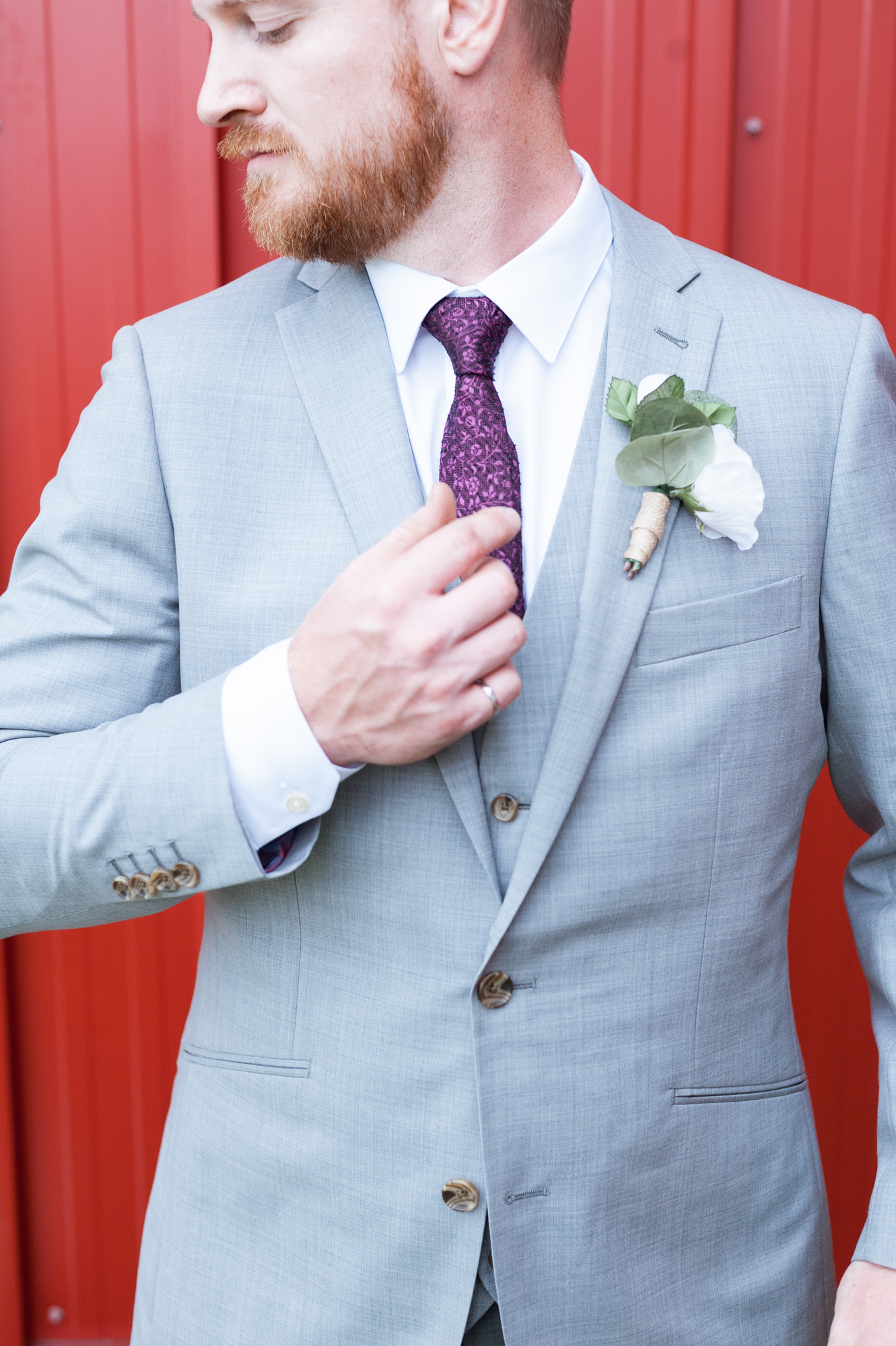 Experimental Farm Ottawa Wedding - Ornamental Gardens - Groom