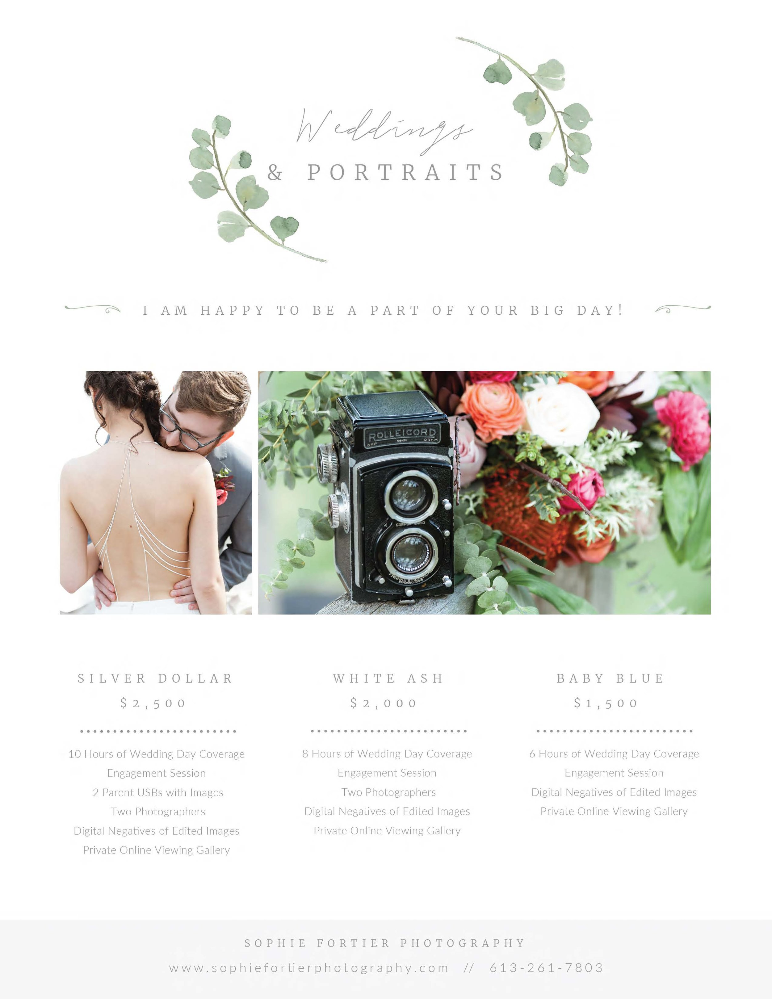 Sophie Fortier - Ottawa Wedding Photographer