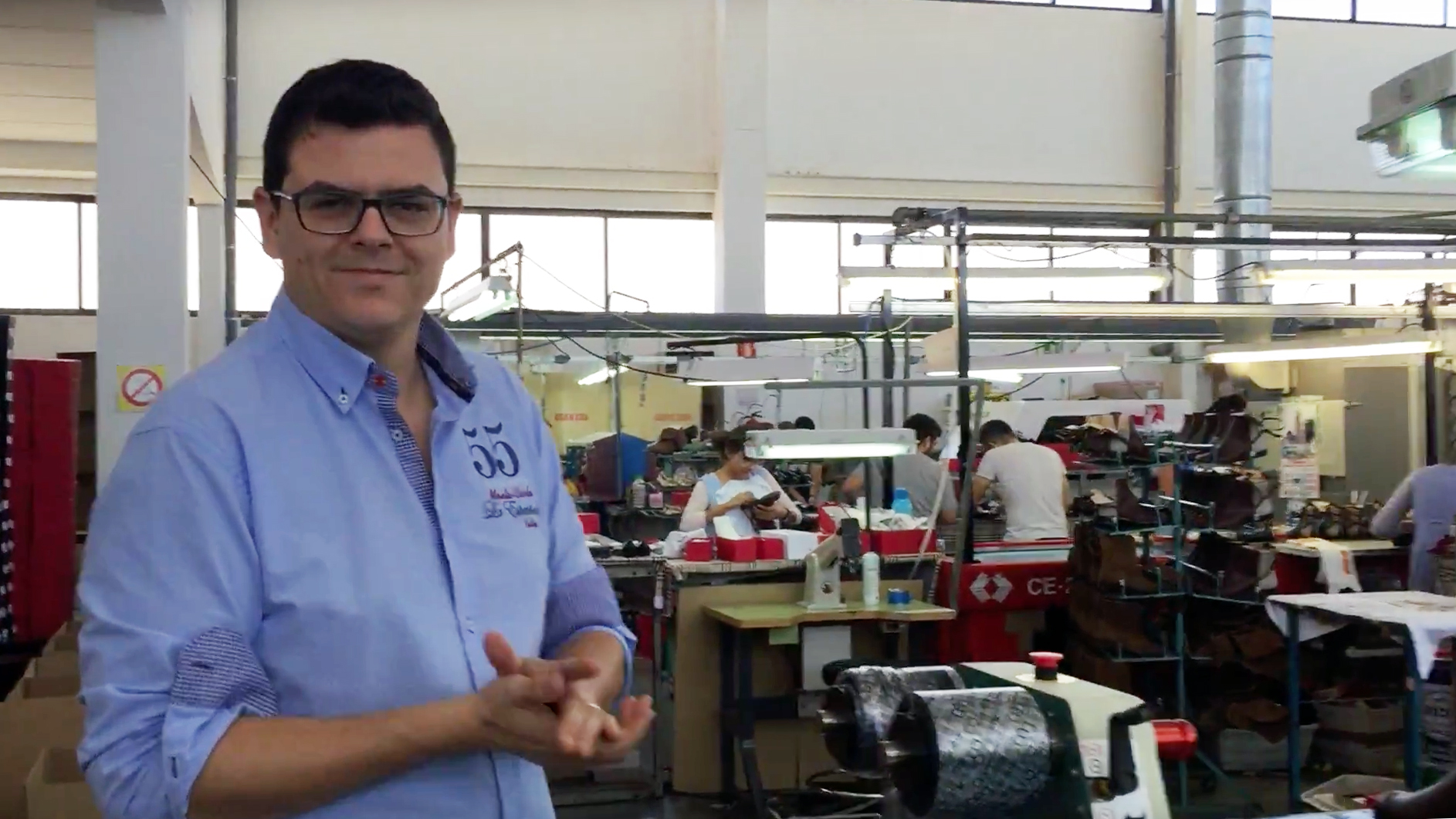 Ramon Tendero second generation Spanish shoe manufacturer