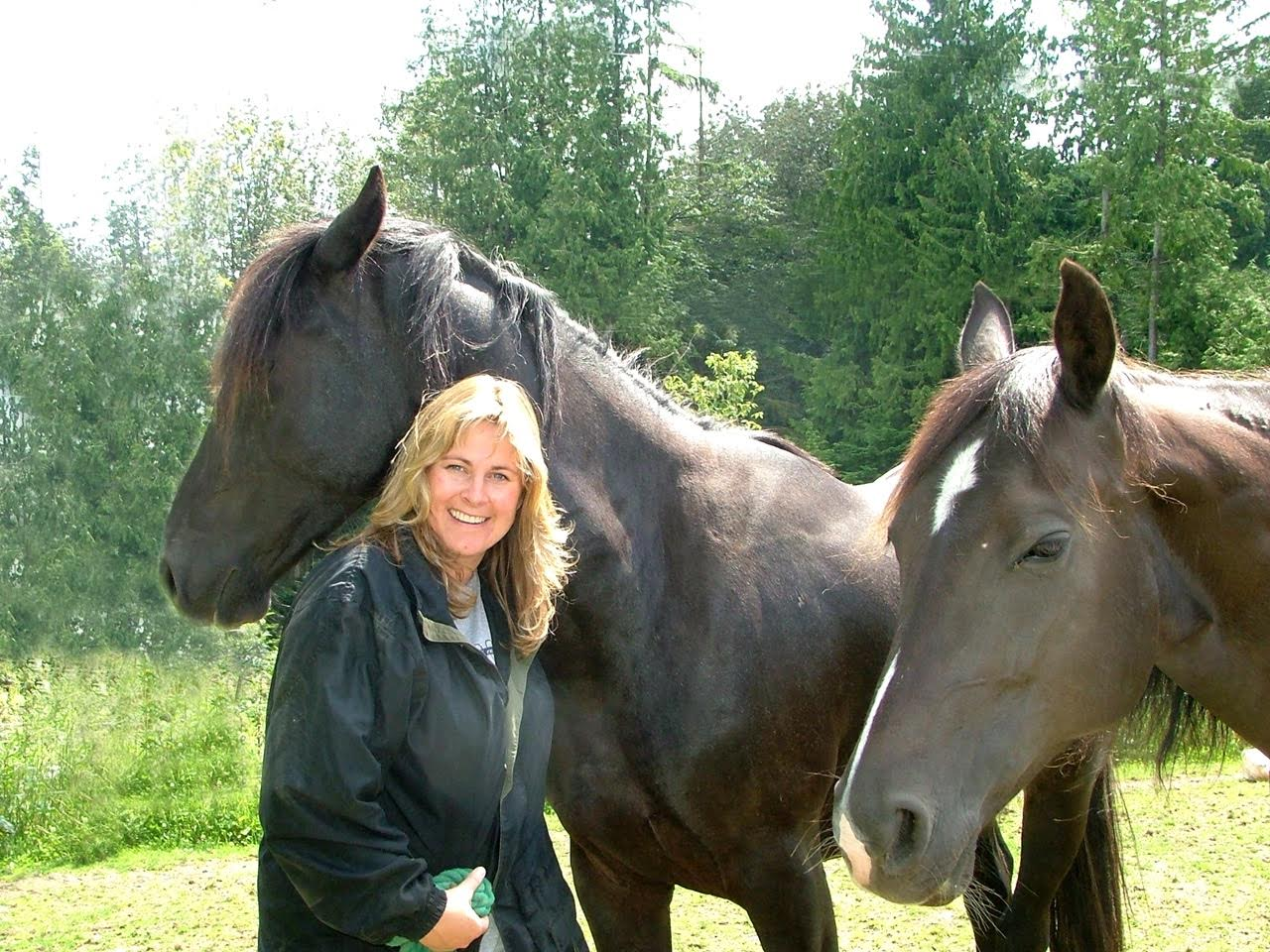 Sandra Wallin  is an educator and psychotherapist who has been learning from horses her entire life. Specializing in belief change psychology, nature based teaching and equine guided learning, Sandra helps visionaries of all ages, transform their lives and/or businesses, quickly, easily and joyfully - often in the company of horses.