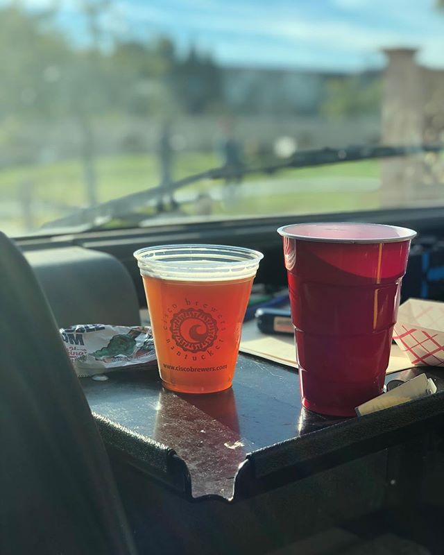 Friday afternoon dashboard views😍 Thanks for asking us to come feed your awesome staff @ciscoportsmouth, and for the tasty beverage😉 #freefunfriday #itsfiveoclocksomewhere #closeenough