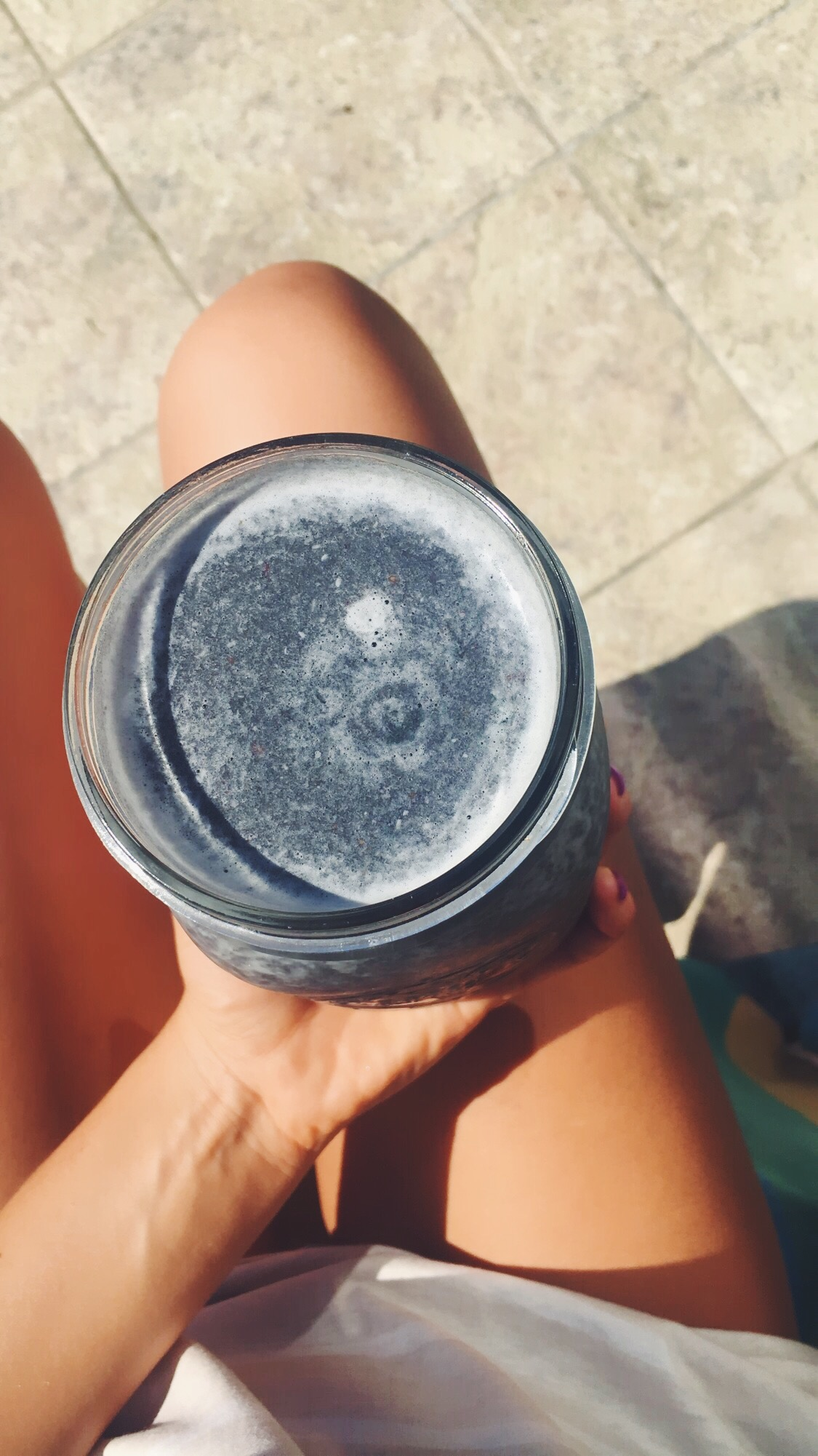 Activated Charcoal Citrus Smoothie