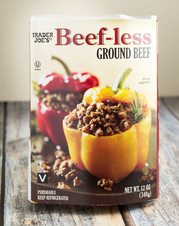 Beefless Ground Beef by Trader Joe's