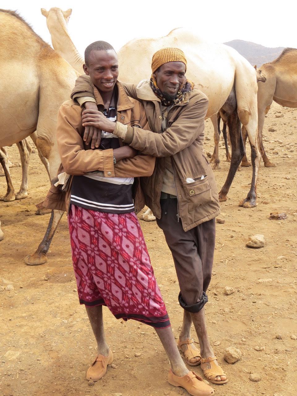 Kachiuru camel herders