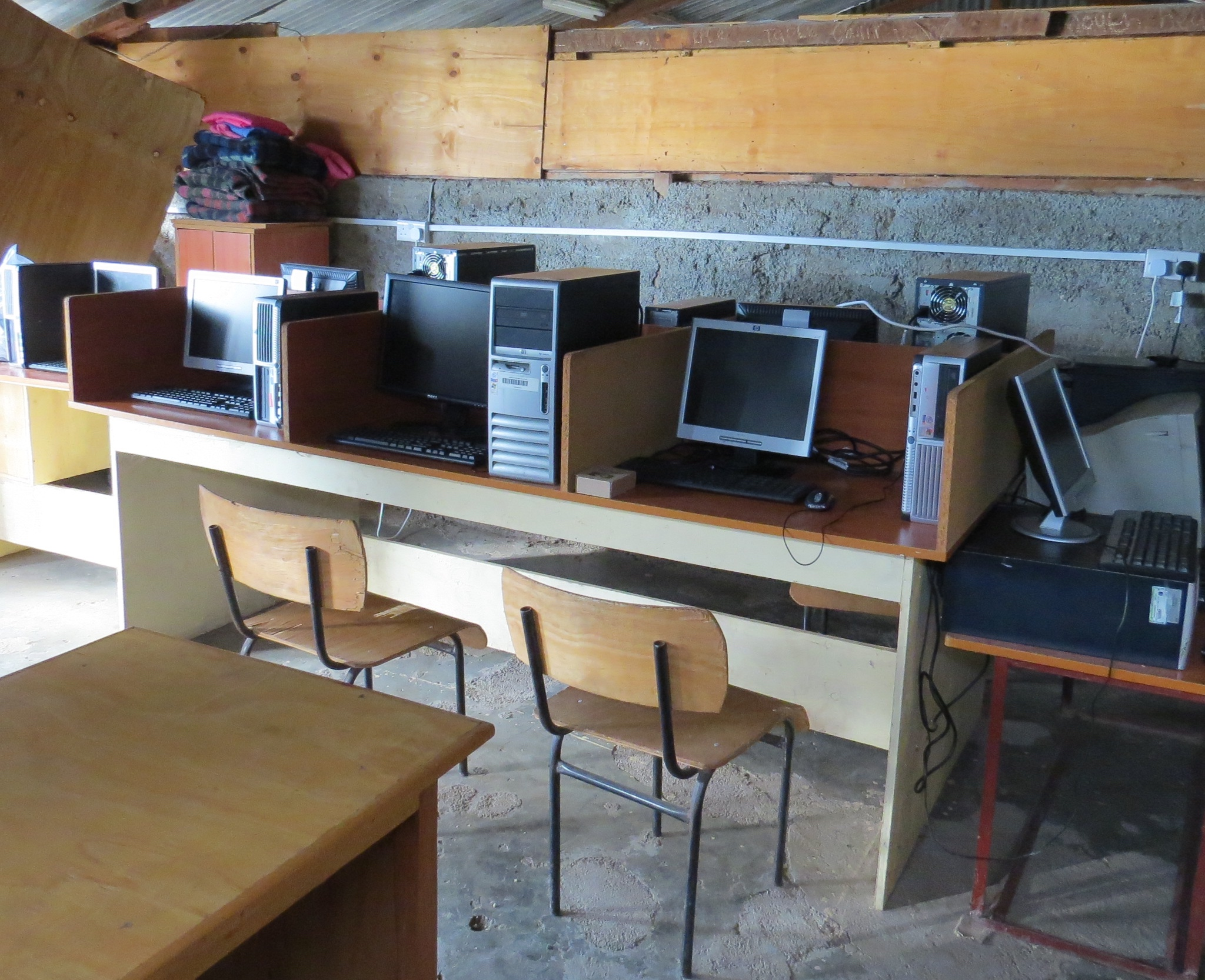 Computer lab at Kokwa Primary School
